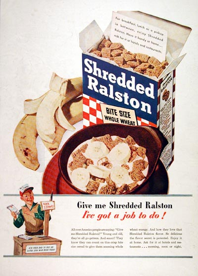 1944 Ralston Shredded Wheat #007425