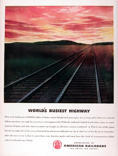 1945 American Railroads Association #024377