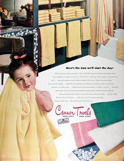 1945 Cannon Towels #009636