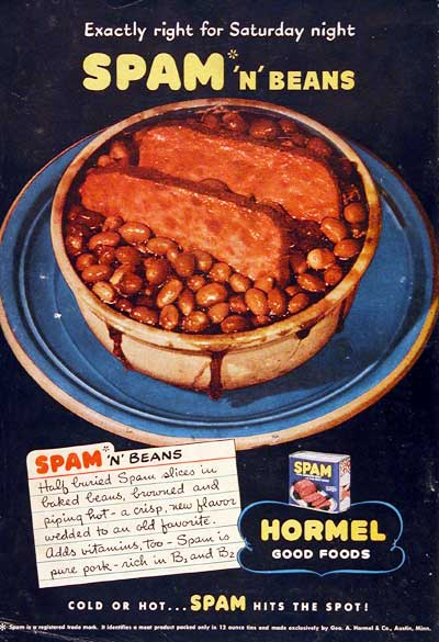 1945 Spam & Beans #003838