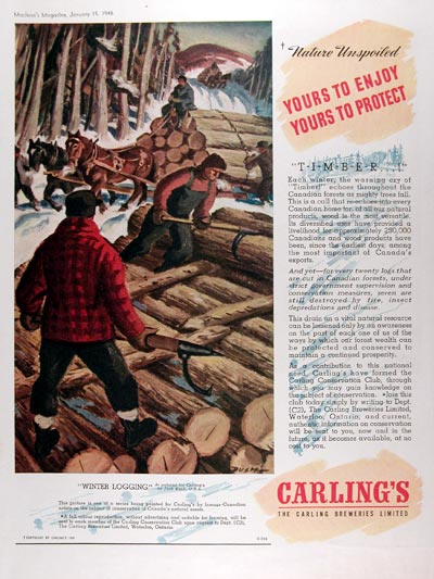 1946 Carling Brewery #010940