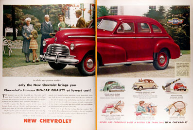1946 Chevrolet Stylemaster Classic Ad #000413