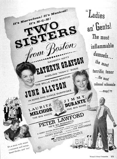 1946 Two Sisters From Boston