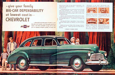 1947 Chevrolet Fleetmaster Classic Ad #000430