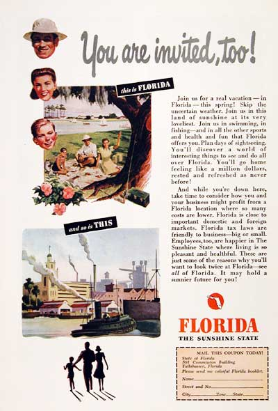 1947 Florida Vacation #003922