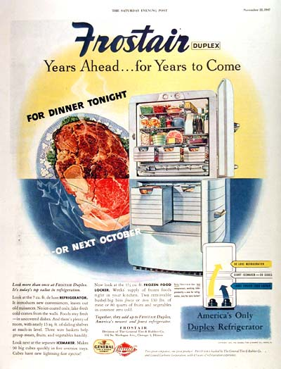 1947 Frostair Refrigerator