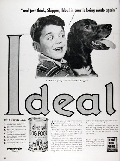 1947 Ideal Dog Food #009687