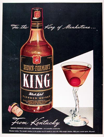 1947 King Whiskey #009663