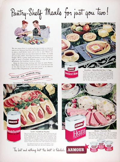 1948 Armour Canned Meats #024343