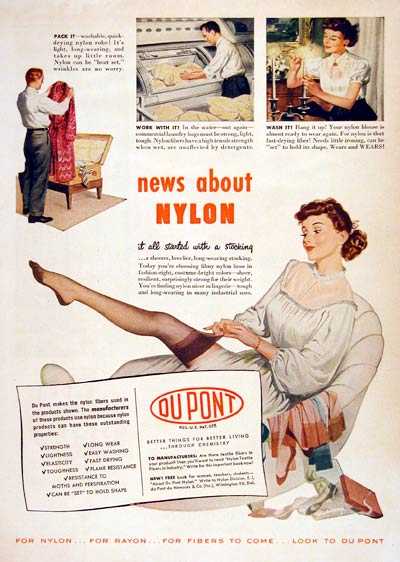 1948 Dupont Nylon Stockings #004365