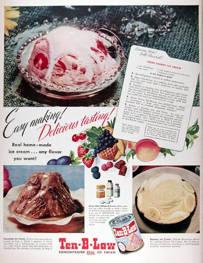 1948 Ten B Low Ice Cream #024383