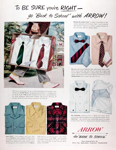 1950 Arrow Shirts #023631