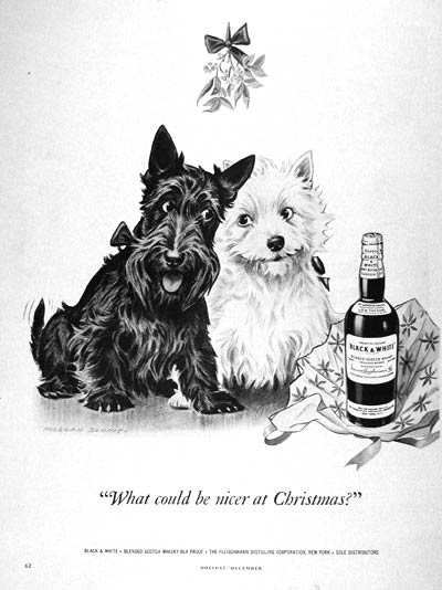 1950 Black & White Scotch