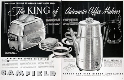 1950 Camfield Coffee Maker #023662