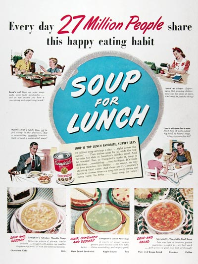 1950 Campbell's Soup #024440