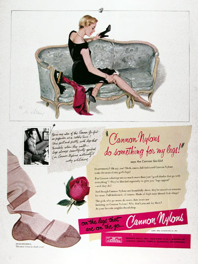1950 Cannon Nylons #023647