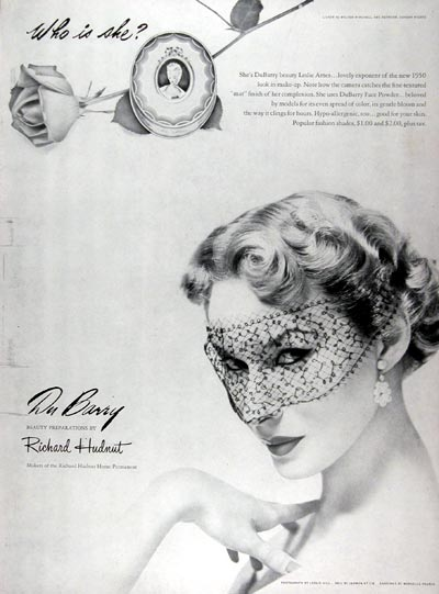 1950 DuBarry Face Powder #024408