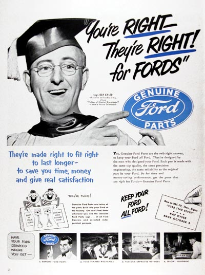 1950 Ford Genuine Parts #023649