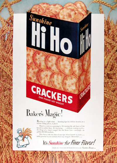 1950 Hi Ho Crackers #023693