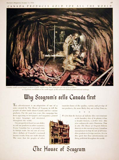 1950 House of Seagram #008021