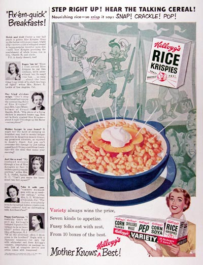 1950 Kellogg's Rice Krispies Cereal #023613