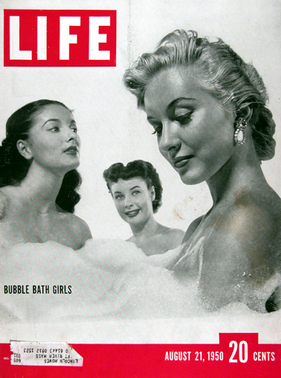 1950 Life Cover - Bubble Bath Girls #023608
