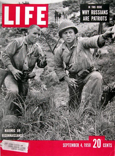 1950 Life Cover ~ Marines on Reconnaissance #024431