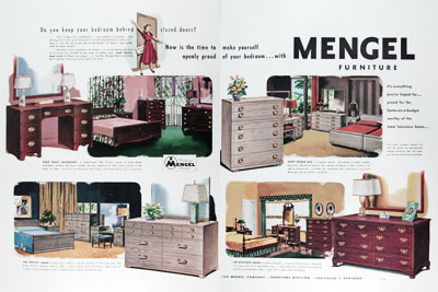 1950 Mengel Bedroom Furniture #023692