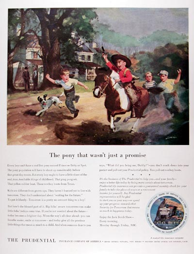 1950 Prudential Life Insurance #023630