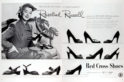 1950 Red Cross Shoes #023666