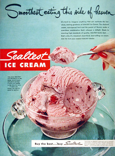 1950 Sealtest Ice Cream #002949