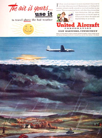 1950 United Aircraft Corp. #002319