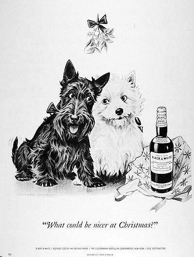 1951 Black & White Scotch #003748