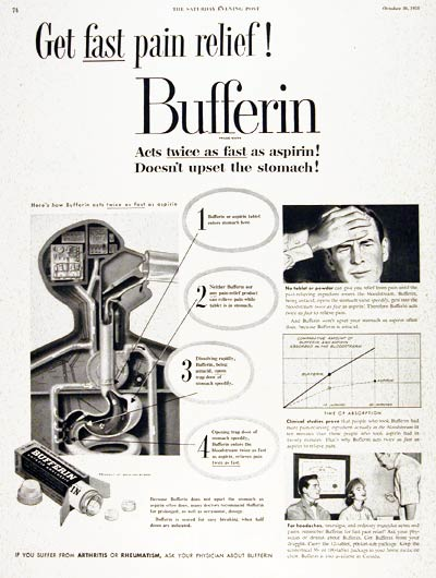1951 Bufferin Analgesic #003689