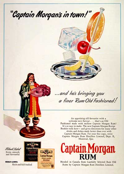 1951 Captain Morgan #002917