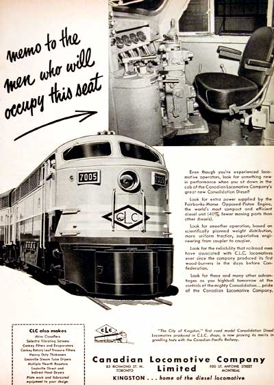 1951 CDN Locomotive #002926