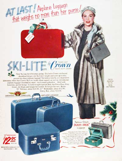 1951 Crown Luggage #003379