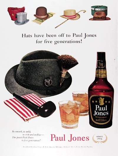 1951 Paul Jones Whiskey #024522