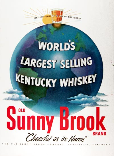 1951 Sunny Brook Kentucky Whiskey #024539