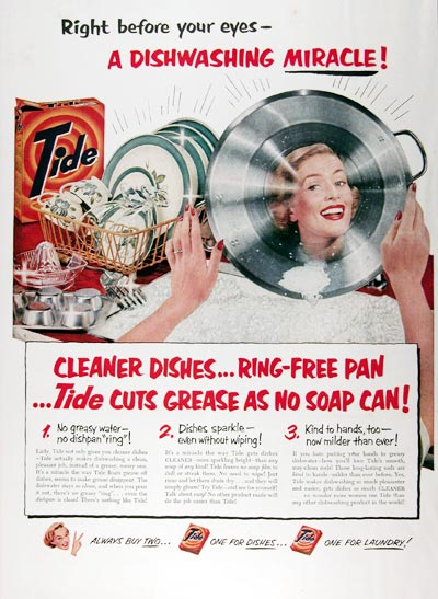 1951 Tide Dishwashing Soap #024542