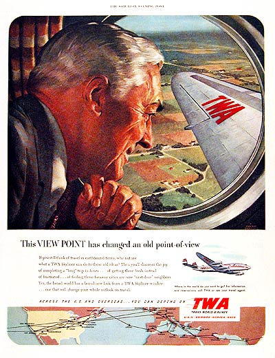 1951 TWA Airlines #003687