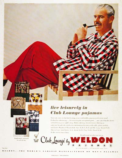 1951 Weldon Pajamas #003738