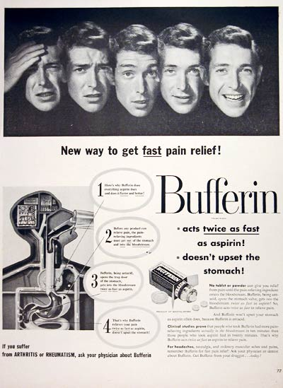 1952 Bufferin #004083