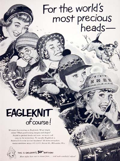 1952 Eagleknit Hats #004066