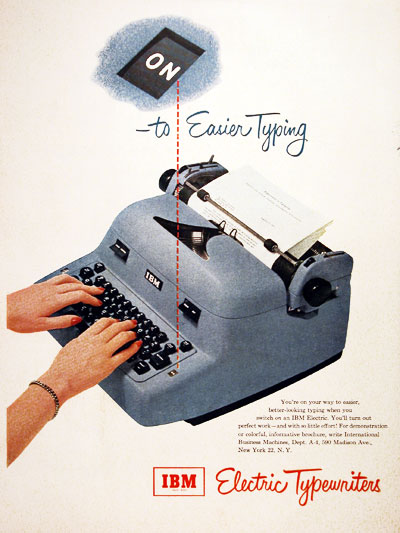 1952 IBM Typewriter #004065