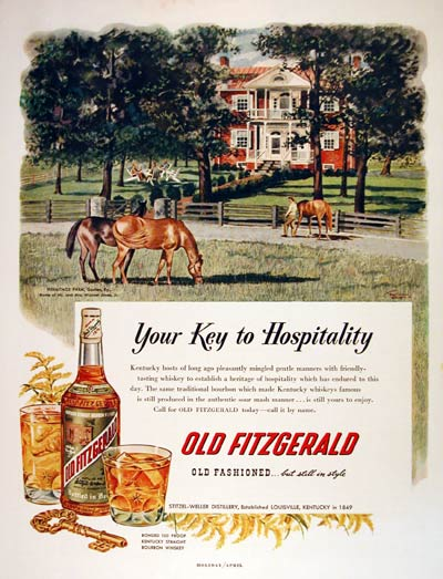 1952 Old Fitzgerald Whiskey #004504