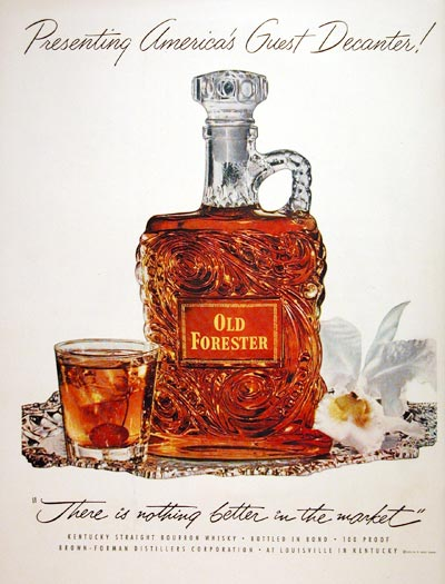 1952 Old Forester Whiskey #004069