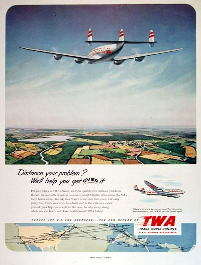1952 TWA Connie #004507