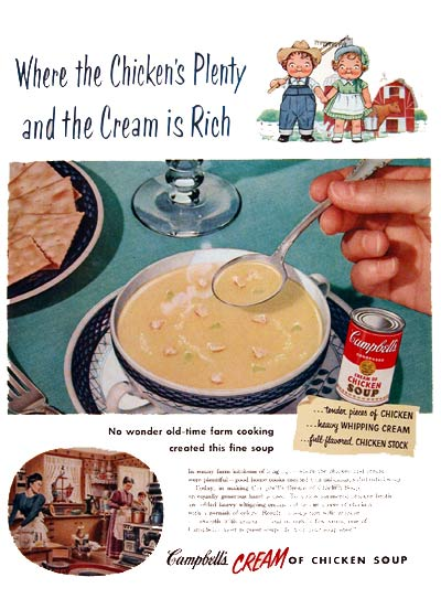 1953 Campbell's Chicken Soup #004044