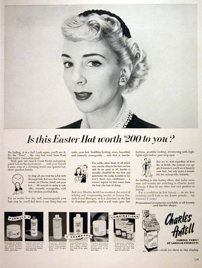 1953 Charles Antell Hair Care #004046